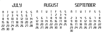 Jul - Sep