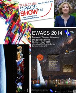 calendar feature - Toulouse Space Show
